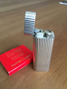 Cartier - lighter - silver plated