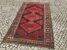 Old and Unique Persian Hamadan RUG 223x135 Hand knotted