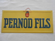 PERNOD FILS - Embossed screen printing - 1960