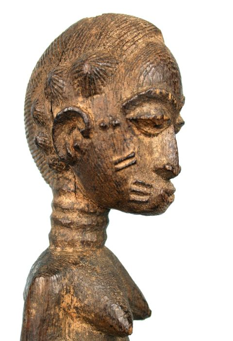 Old and authentic Blolo Bla - BAULE - Ivory Coast