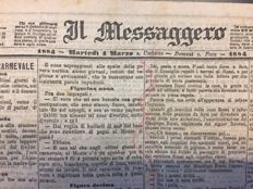 Messaggero copia autentica 1884