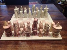 Chess set from Kenya