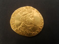 Spanish Ruling - Milan - Philip III - Doppia - 1617 - gold