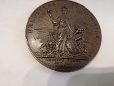 United Kingdom - medal 1760 'Accession of George III' by T.Pingo Eimer  – bronze