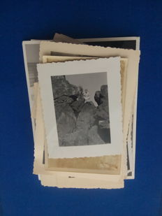 Large collection of photos, negatives, postcards (1900-1960)
