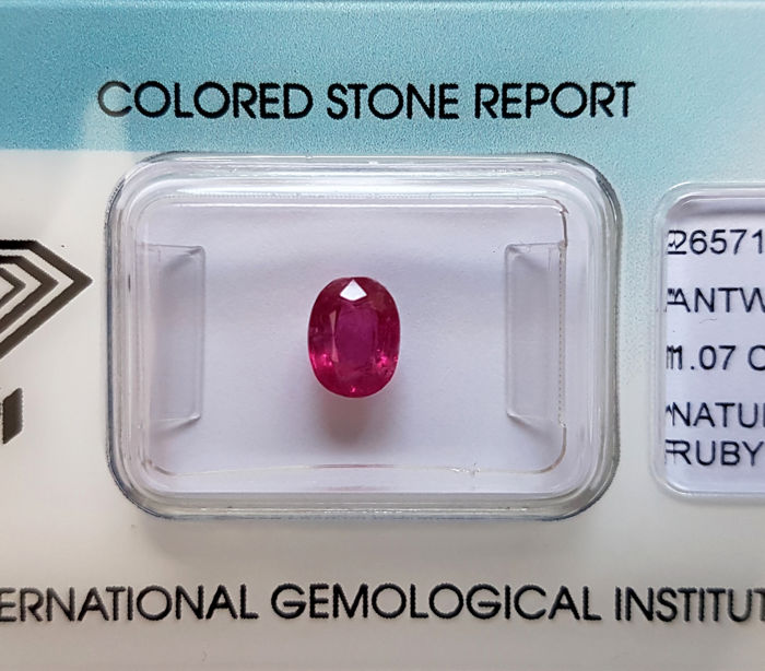 Ruby – 1.07 ct