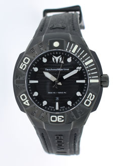 TechnoMarine - Black Reef Date Divers Watch - 513003 - Herrar - 2011-nutid