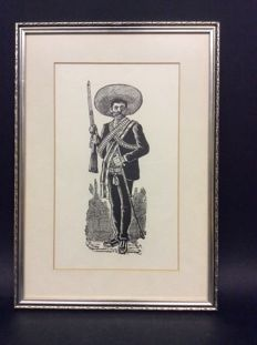 Four etchings - the Mexican Revolution