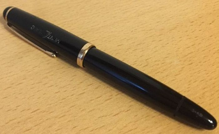 MONTBLANC 3-42 342 piston filler fountain pen of approx. 1958