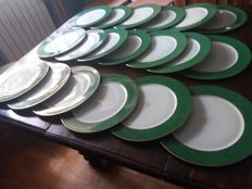 19 Haviland porcelain plates
