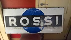 Enamel sign - Rossi - 1960