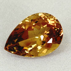 Champagne Topas - 16.07 ct
