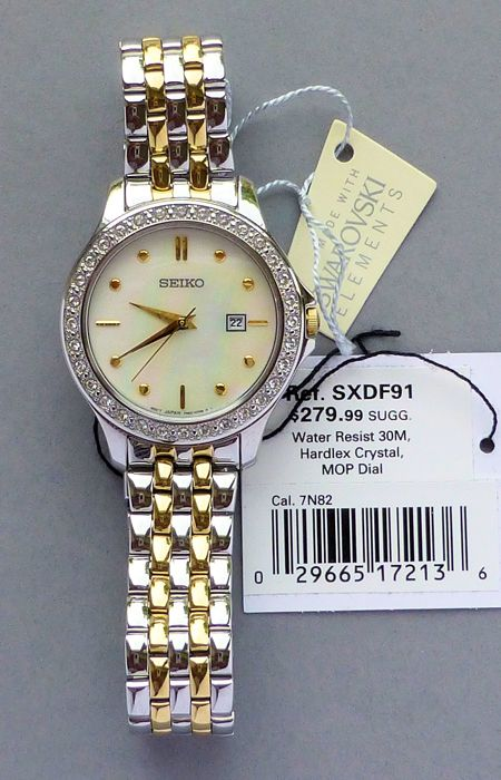 Seiko Ladies' Bracelet Wristwatch