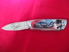 Franklin Mint - NASCAR Driver Dale Earnhardt Collector's Knife incl. case, Certificate of authenticity and original packaging - is rarely offered.