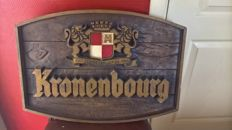 Advertising sign - Kronenbourg - late 20th century