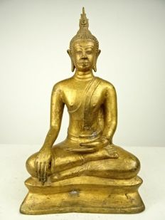 Uthong-style Buddha - Thailand - Second half of 20th century