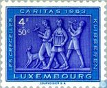 Postage Stamps - Luxembourg - Rattles during the Holy Week