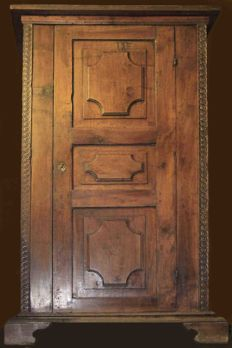 17th century Cabinet - all original - made in Siena, Italy
