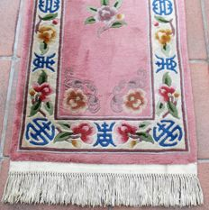Hand-knotted hall rug - China (Beijing) - 305 x 69 cm - second half of the 20th century