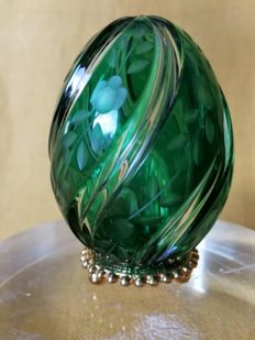 Fabergé:  Imperial Egg Fabergé in Crystal