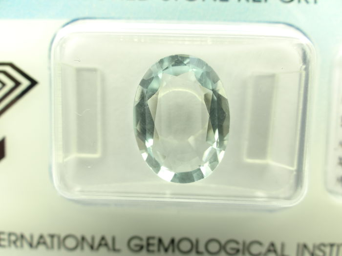 Aquamarine - 3,75 ct