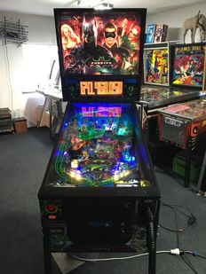 SEGA Batman Forever 6 Players wide body pinball machine / IPD No. 3593 / July, 1995 /