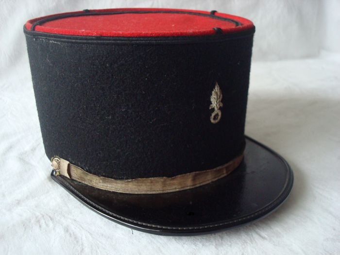 33b562cfa9 French Foreign Legion Senior Sergeant Kepi Cap Dating to the Indochina War  from approx.1950