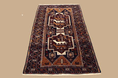 Hand-knotted Persian carpet, Baluch, old, approx. 190 x 107 cm