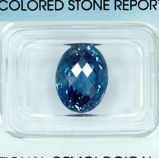 London Blue Topaz – 7.94 ct