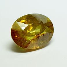 Sphalerite  yellow-orange-  51,70 ct