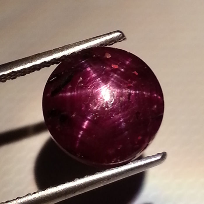 Star Ruby - 6.10 ct