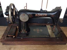 Antique Kohler sewing machine, Germany, early 20th century