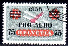 "Switzerland - 1938 - airmail stamp ""Pro Aero"" with overprint ""Specimen"" Michel 325 SP"