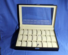 Watch-holder box with window