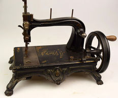 Beautiful antique sewing machine - C. Konerding Fabrik Kjobenhavn - 19th century