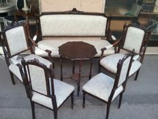 Art Nouveau complete sitting set - 20th century