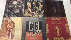 Jethro Tull - Set of 6 Rock LP Album