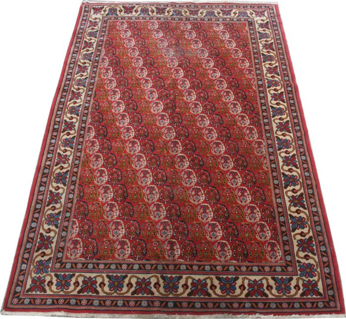 Very pretty vintage oriental carpet from Transylvania, handmade, 170 x 268 cm