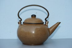 Polished Yixing Pottery Teapot - China (for Thai Market) - before 1920