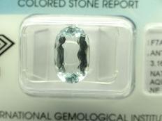 Aquamarine - 3,16 ct