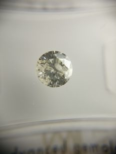 0.71 ct Round Brilliant cut diamond J SI3