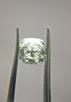 1.01 ct Cushion Modified Brilliant cut diamond I VVS2