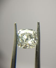 1.21 ct Cushion Modified Brilliant cut diamond I VS1