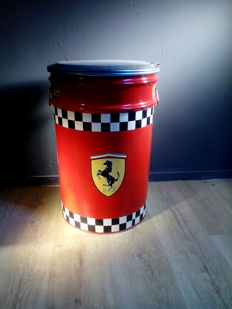 Ferrari - Barrel / Seat / Chair - Metal