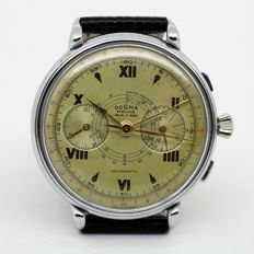 Dogma Prima – Chronographe Suisse – Men's wristwatch – Very old – 1940s