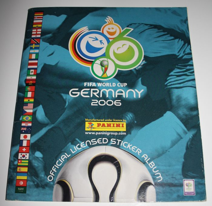 Panini - World Cup 2006 Germany - Complete album - European version