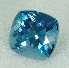 London blue topaz - 7.09 ct