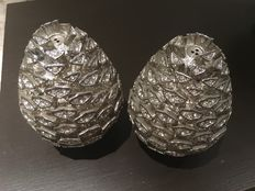 Pine cone salt and pepper