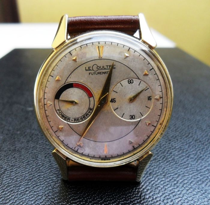 LeCoultre Futurematic Men's wrist watch 1950s