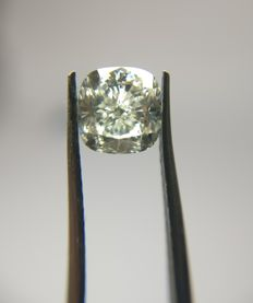 1.02 ct Cushion Modified Brilliant cut diamond J VS1